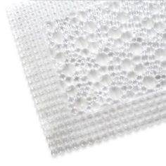 Stylishly and uniquely designed, the Fuse Bath Mat features an attractively clear translucent appearance that will add a splash of fashion to your bathroom décor. Free shipping on orders over $29.