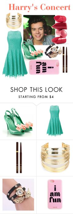 """Harry's Concert"" by ralisravya ❤ liked on Polyvore featuring Shoshanna, Rossetto, Tom Ford, WithChic, women's clothing, women, female, woman, misses and juniors"