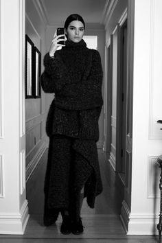 "senyahearts:  Kendall Jenner in ""#VogueInstaFashion"" for Vogue.com, February 2014. Photographed by: Jeff Henrikson"