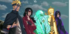 Boruto, Sarada, Mitsuki, Naruto & Sasuke *if this is how they look like as teenagers/young adults I will be completely satisfied with the series* Anime Naruto, Naruto Shippuden Sasuke, Naruto Kakashi, Sarada E Boruto, Naruto Cute, Inojin, Sasunaru, Sarada Uchiha Wallpaper, Naruto Wallpaper