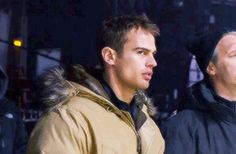 An actual dork, please give me 100 Theo James