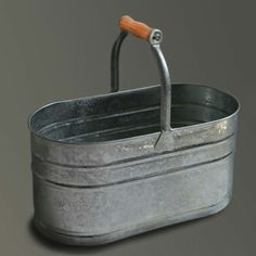 Galvanized bucket, Labour and Wait