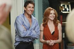 Desperate Housewives: Bree and Chuck Desperate Housewives Quotes, Bree Van De Kamp, Marcia Cross, Housewife, Color Combos, To My Daughter, Tv Shows, Wisteria, Movies