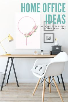 this beautiful printable wall art will give you so many ideas to decorate your home office. Click to shop for the inspiration Feminine Office Decor, Gold Office Decor, Wall Art Decor, Wall Art Prints, Minimalist Office, Bedroom Prints, Colorful Wall Art, Intersectional Feminism, Digital Wall