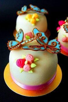 Cute butterfly dessert