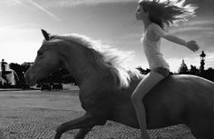 Arabian Horse Times: Just a Girl and her Horse