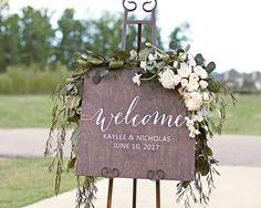 Welcome Wedding Signs Wood Wedding Signs Welcome Welcome