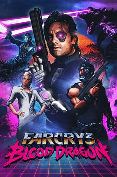 #giveaway Far Cry 3: Blood Dragon (PC) [Uplay Key] - Ends 1/6/15