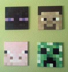 1000 images about party with minecraft on pinterest minecraft lego minecraft and minecraft - Minecraft head decoration ...