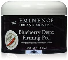 Eminence Blueberry Detox Firming Peel 84 Ounce -- You can get additional details at the image link-affiliate link. #OrganicSkincare