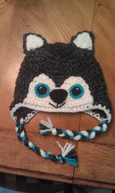 Ravelry: acmom0711's Wolf Hat Crochet Wolf, Crochet Cap, Crochet Beanie, Cute Crochet, Crochet Crafts, Crochet Projects, Crochet Kids Hats, Crochet For Boys, Knitted Hats