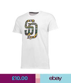 Casual Shirts & Tops Mlb San Diego Padres Era West Coast Logo T Shirt Mens #ebay #Fashion