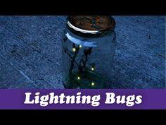 Poke a few holes in a jar, it's time to catch Lightning Bugs!