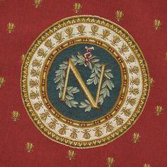 Napoleon's symbols - bees & laurel wreath