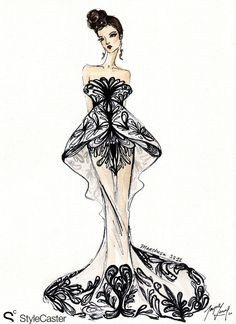 New York Fashion Week Illustrated – Our 6 Fave Looks Get Sketched!
