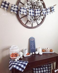 Happy Tuesday!! Half my house is decorated for Halloween and the the other half is decorated for fall/Thanksgiving! You should see the looks my kids give me!sharing this part of my house for some Tuesday tags! #thepumpkinpatch #wednesdaywalldecor #seasonsofsimplicity #chalktotheboard #tablelovetuesday #thecottonfarmhouse #mytargettuesday #myseasonalfarmhouse would @creativityinthecornbelt or @dusty.rose.n.shabby.bows care to share for any of these!? . . . #fall #falldecor #gather #thank...