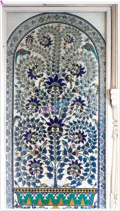 Image detail for -The glass mosaic panels of Udaipur absorbed the Mughal art of pietra ...