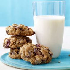 Take oatmeal cookies to the next level by adding chocolate chunks and tangy dried cherries.