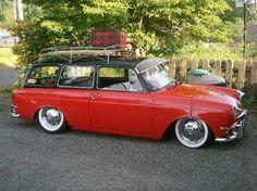 VW Type 3 Squareback   1967 Volkswagen Squareback vw-type-3. I like the two-tone paint