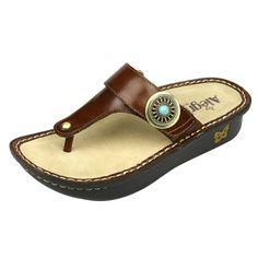 Alegria Women's Carina Wedge Sandal -- For more information, visit now : Platform sandals