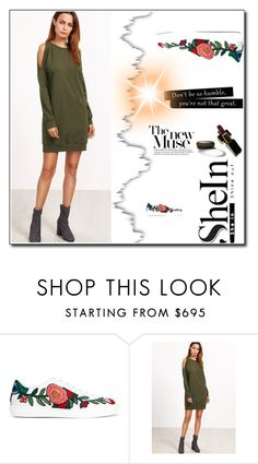 """shein contest"" by kmen-s ❤ liked on Polyvore featuring Gucci"
