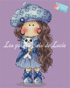 Cross Stitch Boards, Cross Stitch Needles, Cross Stitching, Cross Stitch Embroidery, Ribbon Embroidery, Modern Cross Stitch Patterns, Cross Stitch Designs, Everything Cross Stitch, Stitch Doll