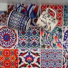 GypsyYaya-Removable Turkish Tile Decal Backsplash - but how well do they really come off the wall?