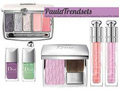 Dior Secret Garden pastel shades for spring