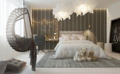A Pair Of Childrens Bedrooms With Sophisticated Themes