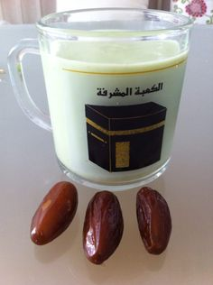 Avocado juice with dates - a part of Ramadan