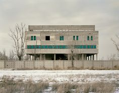 Photos: The Ruins of the USSR's Secret Nuclear Cities | Kurchatov IV (Telephone Exchange), Kazakhstan 2011  Nadav Kander / Courtesy Flowers Gallery  | WIRED.com
