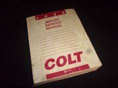 Vintage 1986 COLT Import Service Manual