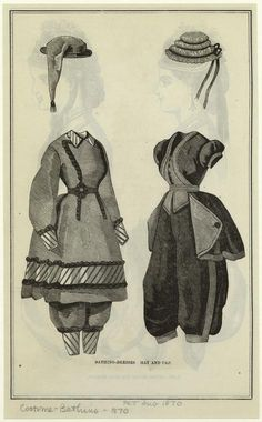 Tell me about Victorian Bathing Suits - Belle Alley