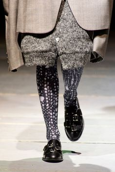 Comme des Garçons Fall 2014 - knitted stockings
