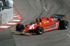 Ferrari Scuderia, Ferrari F1, Gt Cars, Race Cars, Long Beach, Formula 1, Bugatti, Spanish Grand Prix, Gilles Villeneuve