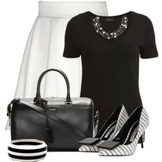 """""""Untitled #2920"""" by cassandra-cafone-wright on Polyvore. Loving this look. Has this almost vintage look; real retro looking"""