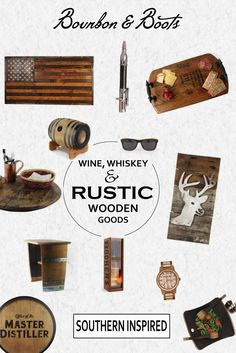 We have scoured the country in search of the most unique reclaimed whiskey, wine, and rustic home and kitchen decor. Each item is hand crafted and made in the USA. Perfect for wedding bridesmaid, groomsmen gifts, birthday gifts or gifts just because. Shop our full collection of unique merchandise made from authentic reclaimed whiskey barrels, wine barrels and barns. Our Southern Inspired goods are sure to add great conversation during your next family gathering. Welcome to Bourbon & Boots!