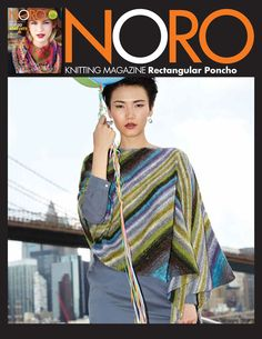 Rectangular Poncho in Noro Silk Garden Sock Yarn - 27 - Downloadable PDF. Discover more patterns by Noro at LoveKnitting. We stock patterns, yarn, needles and books from all of your favourite brands.
