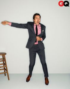 I have the biggest crush on Jimmy Fallon.