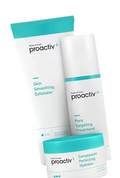 Proactiv's acne-fighting powers are second to none, but there's one downside: It feels kind of … young. (Maybe it's the infomercials with Justin Bieber.) Realizing that adult acne is a major problem -- and one that's growing, unfortunately -- founders Dr. Rodan and Dr. Fields developed Proactiv Plus. The packaging is simple and refined so you can proudly display it in your medicine cabinet, and in addition to fighting breakouts it also targets dark spots, pore size, and uneven texture.