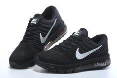 Nike Air Max 2017 Women Men Black White Shoes