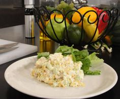 Cottage Cheese Chicken Salad | FaveHealthyRecipes.com Go with the full fat cottage cheese, because low fat or light almost always has more added sugar -.-