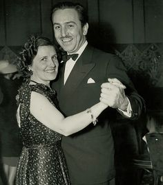 Walt and Lilian Disney :) probably the greatest famous couple