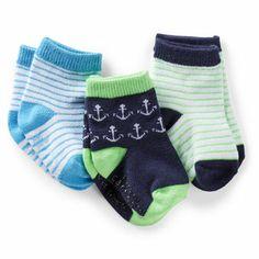 3 pack Nautical Socks - - from Carter's