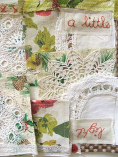 dottie angel: 'whatnot' holiday garland