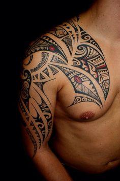 Maori Tüskevár tattoo art