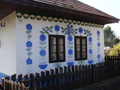 Hungarian country house painting