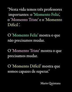 Momentos da vida - Mario Quintana