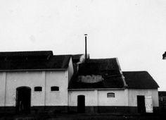 1930 - Vista parcial da fachada lateral esquerda do Matadouro Municipal. In: Relatorio e Inventario da Comissão Avaliadora. s.n.t. Acervo: Arquivo Público Municipal.
