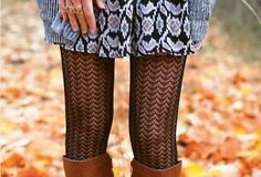 THE PATTERNED TIGHTS #fallstyle